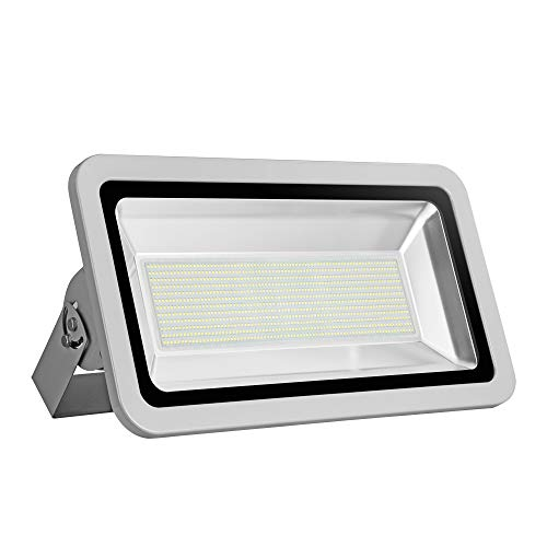 CHUNNUAN LED Flood Light, 500W,50000LUMEN 6000-6500K (Cold White), IP65 Waterproof,floodlight, CE and ROHS Certified Outdoor Security Lights Garden Landscape Super Bright -