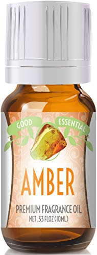 Amber Scented Oil by Good Essential (Premium Grade Fragrance Oil) - Perfect for Aromatherapy, Soaps, Candles, Slime, Lotions, and - Oil Body Amber