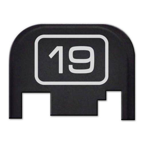 glock 19 slide back plate - 9