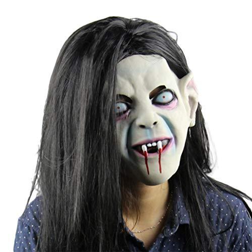 Novelty Halloween Night Party Latex Mask Scary Horror Curse Scorpion Mask