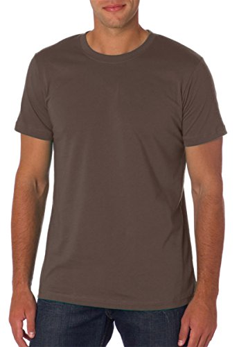 Bella+Canvas Unisex Jersey Short-Sleeve Crewneck T-Shirt, Medium, Pebble Brown