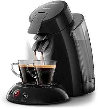 Philips Senseo HD 6555/27 Independiente Máquina de café en cápsulas 1.2L, 1450 W, Negro: Amazon.es: Hogar