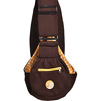 e28855070 ... with unique buckles, zippered pocket and water proof bag for small dogs  and puppies. Reversible double sided ultra soft brown tote fits all heights