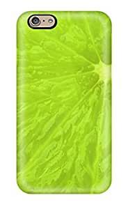 Excellent Design Fresh Green Lime Slice Phone Case For Iphone 6 Premium Tpu Case