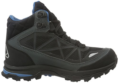 Viking Ascent II Spikes, Chaussures de Trekking Et Randonn&Eacutee Mixte Adulte Noir - Schwarz (Black/Silver 246)