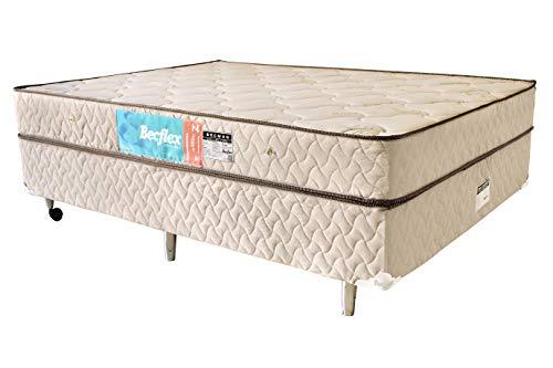 Conjunto Box Completo Queem Becflex. Becmag. 1,58 x 1,98 x 0,48 Densidade 80kg/m³(Cama Box + Colchão). - Magnético
