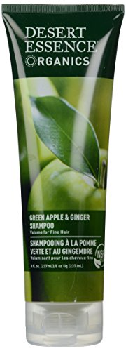- Desert Essence, Thickening Shampoo, Green Apple and Ginger, 8 oz