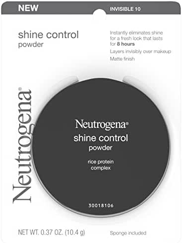 Neutrogena Shine Control Powder, Invisible 10, .37 Oz.