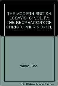 modern essayists