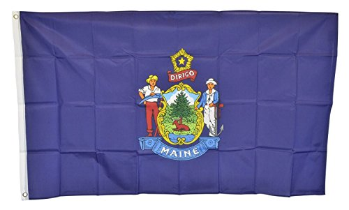 Maine State Flag (Shop72 US State Flags - Maine - 3x5' -)