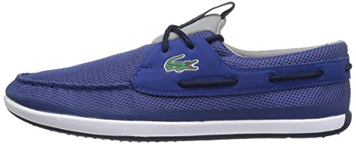 Lacoste Men's L.Andsailing 117 1 Casual Shoe Fashion Sneaker, Dark Blue, 11.5 M US