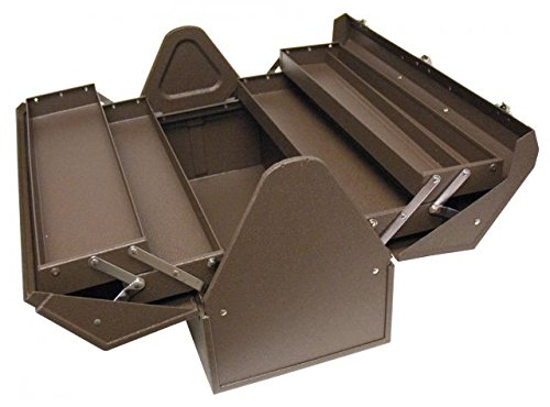 Homak Industrial 22-Inch Cantilever Steel Toolbox, Brown Winkle Powder Coat, BW00210220