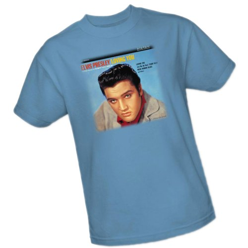 Loving You Soundtrack -- Elvis Presley Youth T-Shirt, Youth X-Large (Elvis Track)