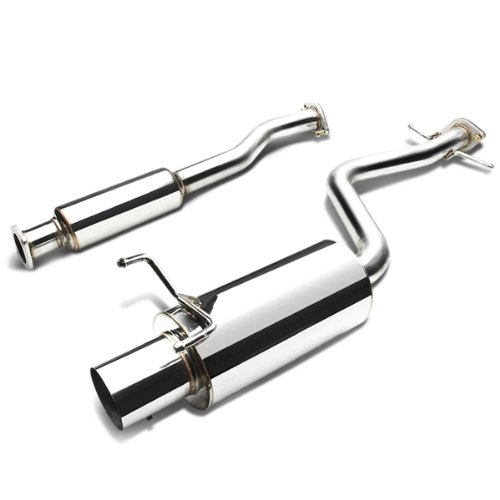 DNA Motoring CBE-IS300 CBEIS300 Stainless Steel Catback Exhaust System