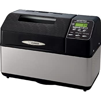 Image of Zojirushi BB-CEC20 Home Bakery Supreme 2-Pound-Loaf Breadmaker, Black Home and Kitchen
