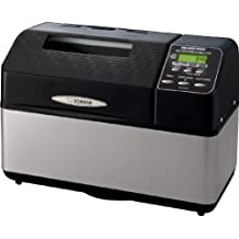 Zojirushi BB-CEC20BA Home Bakery Supreme, Black/Stainless