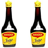 Jugo Maggi Seasoning Sauces Lot Of Two 3.38 oz Each Glass Bottles Sealed