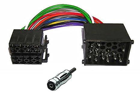 Bmw DIN ISO Auto Radio Adaptador Cable Enchufe 3er 5er z3 e34 e36 e46 e39 nuevo