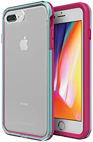 LifeProof SLAM Series Case for iPhone 8 Plus & 7 Plus (ONLY) - Retail Packaging - Aloha Sunset (Clear/Blue