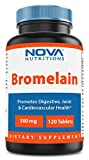 Nova Nutritions Bromelain 500 mg - 120 Tablets