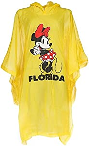 Disney Adult Mickey Mouse Family Rain Poncho Raincoat Keep Dry Clear