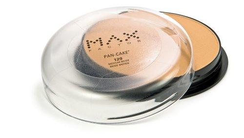 Max Factor Pan-Cake Foundation, Medium Beige 129,  1.70-O...