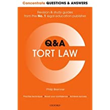 Concentrate Questions and Answers Tort Law: Law Q&A Revision and Study Guide, 1st Edition (Concentrate Law Questions & Answers)
