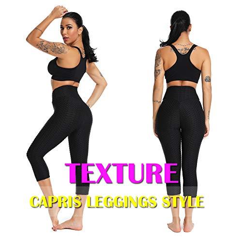 72e5d0bc79 ... SEASUM Women's High Waist Yoga Pants Tummy Control Slimming Booty  Leggings Workout Running Butt Lift Tights ...