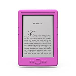 Marware SportGrip Silicone Skin Case for Kindle Cover, Pink (does not fit Kindle Paperwhite or Touch)