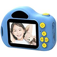 pioleUK Mini cámara Digital para niños Cámara Digital de 2 Pulgadas Grabadora de Video Cámara Digital Cámaras Digitales