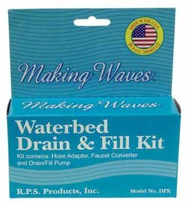 Making Waves Waterbed Drain & Fill Kit by Rps Products