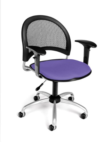 (OFM 336-AA3-2202 Moon Swivel Chair with Arms, Lavender)