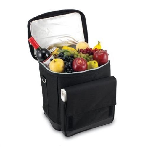 GHP Outdoor Patio Convertible Deluxe Picnic Lunch Tote Cooler by Globe Warehouse