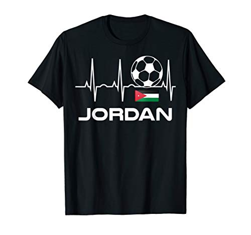 Jordan Soccer Jersey Shirt - Jordanian Football T-Shirt