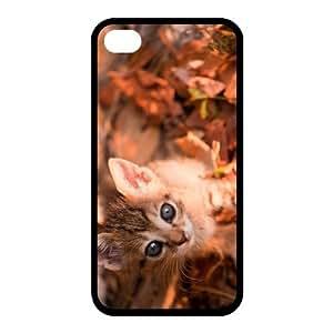 Custom Cat Back case for iphone4,4S JN4S-301