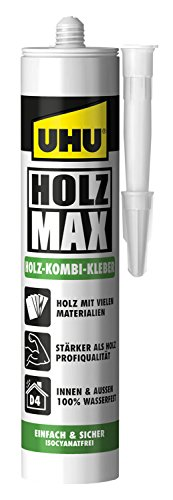 Eagle Owl Wood Glue Max, No solvents, 48330 (Uhu Owl)