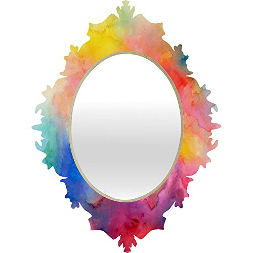 Deny Designs Jacqueline Maldonado Acquiesce 1 Baroque Mirror, Medium/29 x 22