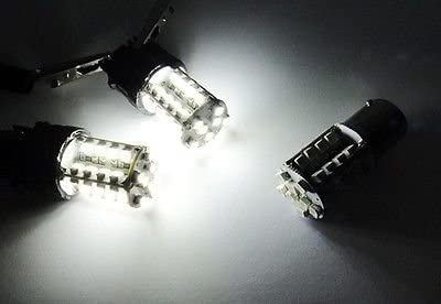 LEDIN A Pair of 7440 White 40 SMD LED Tail Light Bulb 7443 7441 992 T20