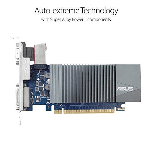 Asus GeForce GT 710 2GB GDDR5 HDMI VGA DVI Graphics Card Graphic Cards GT710-SL-2GD5-CSM