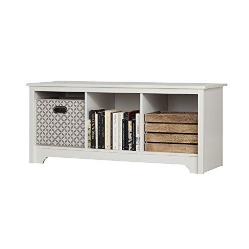 storage benches white - 4