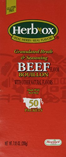 Hormel Herb Ox Beef Bouillon 50 Packets