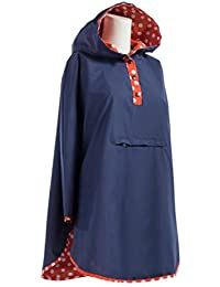 Women's Reversible Rain Poncho