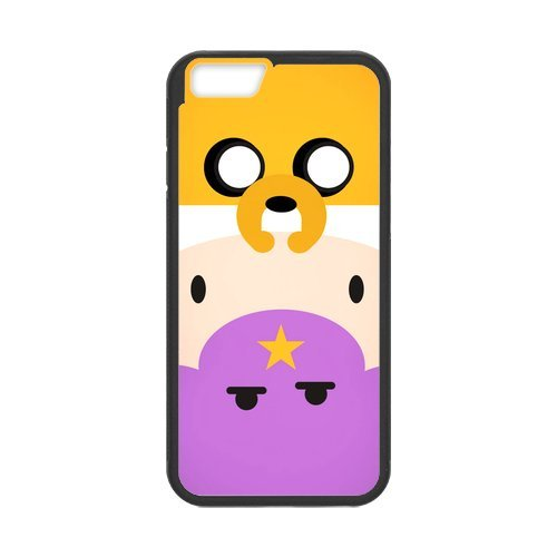 """Fayruz - iPhone 6 Rubber Cases, Adventure Time Hard Phone Cover for iPhone 6 4.7"""" F-i5G205"""