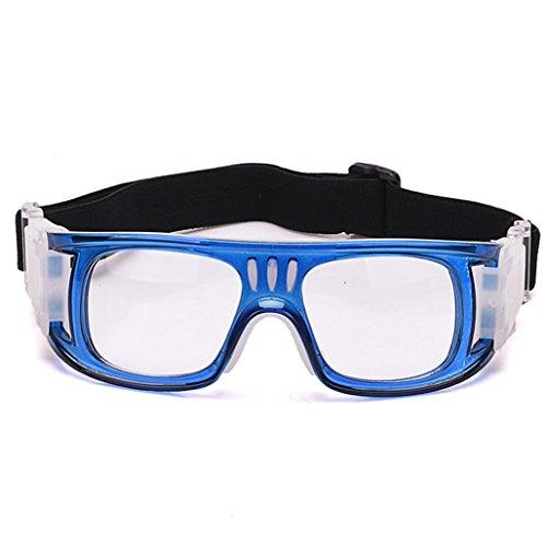 Azul anteojos Baloncesto Materiales explosiones del la Prueba de de Polvo Gafas vidrios PC de Libre fútbol los Aire al a de RFqSxqz