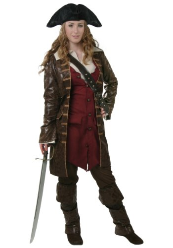 Fun Costumes Womens Caribbean Pirate Costume (Adult Female Pirate Costume)