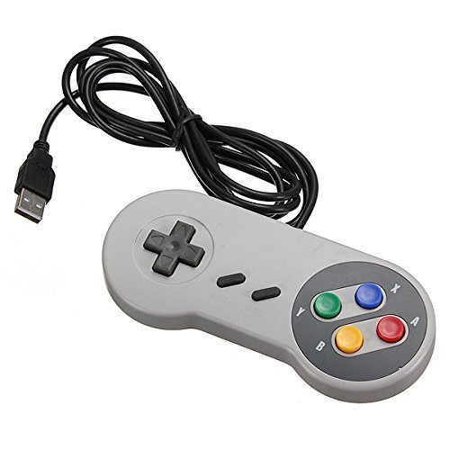 Snes USB Famicom Colored Super Nintendo Style Controller - Killer Instinct Wii Game