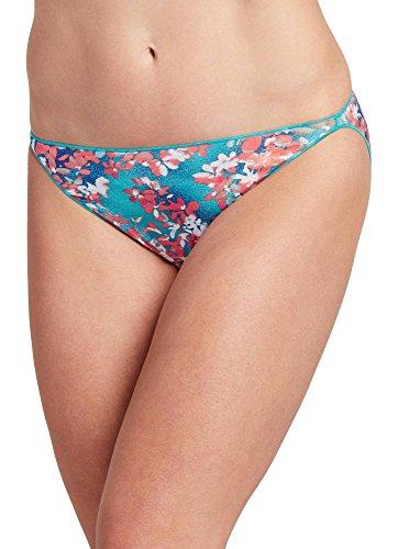 Jockey Women's Underwear No Panty Line Promise Tactel String Bikini, Lilac Summer, 5