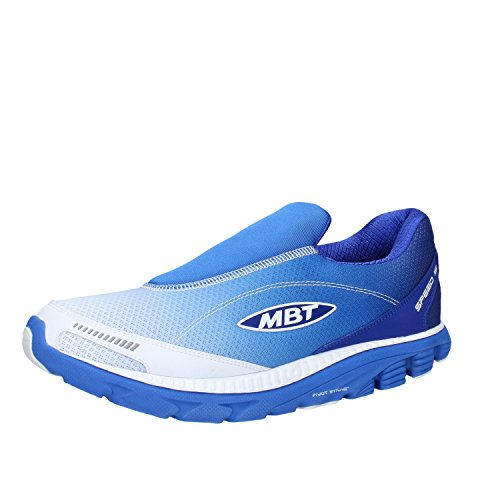 MBT Sneakers Men 9/9.5 US - 43 EU Blue / White Textile