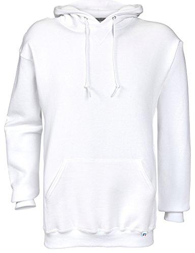 White Hood Clothing (Dri-Power Fleece Pullover Hood - White - Large)