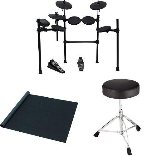 [해외] MEDELI 메테리 전자 드럼 DD401J-DIY KIT 드럼 의자・드럼 매트 부착 세트